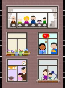 Huiselijk gezin