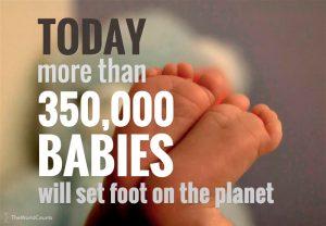 baby's per dag