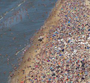 volle stranden