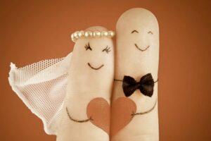 het moderne huwelijk